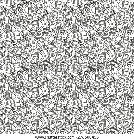 seamless woven pattern