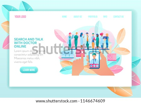 Doctor Consultation Banners Website Training Banners