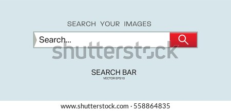 search bar vector