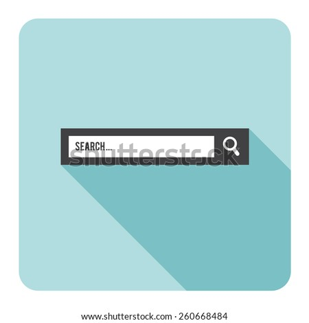 Search bar. Vector illustration.