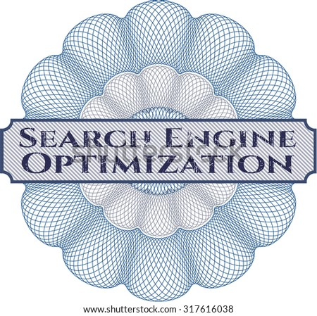 Search Engine Optimization abstract rosette