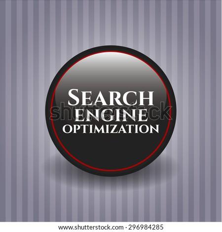 Search Engine Optimization dark badge