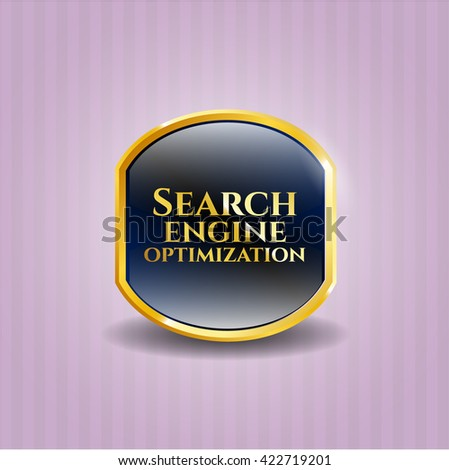 Search Engine Optimization golden badge
