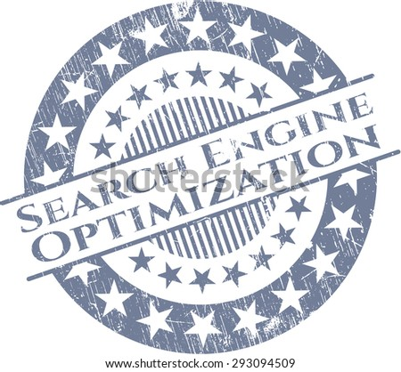 Search Engine Optimization rubber stamp