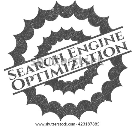 Search Engine Optimization with pencil strokes