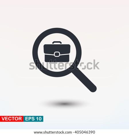 Search job icon vector