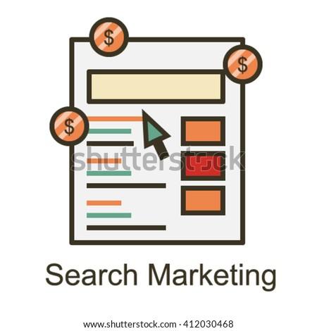Search Marketing Icon