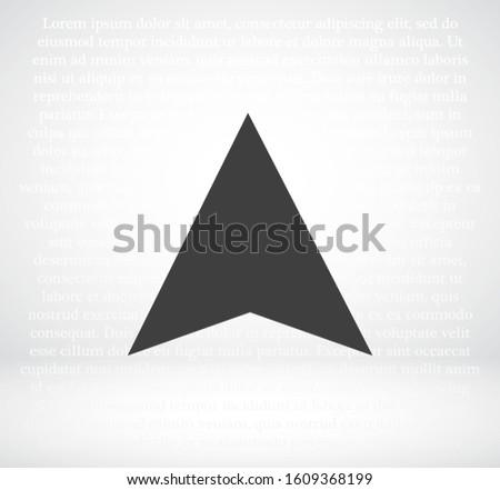 search navigator vector icon . Lorem Ipsum Flat Design