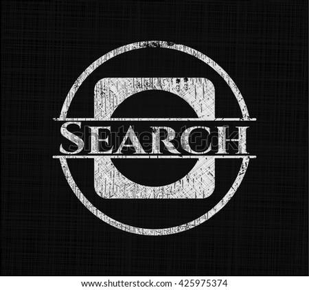 Search on blackboard