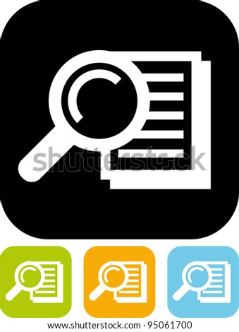 Search text - Simple vector icon