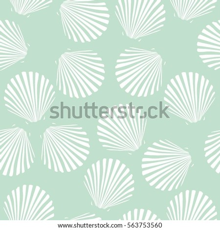 seashells vector illustration