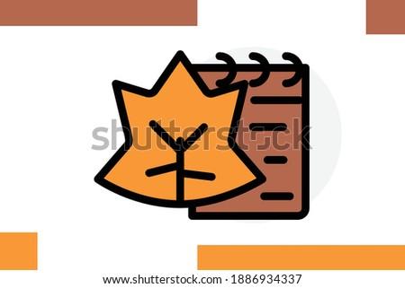 season icon for  autumn season