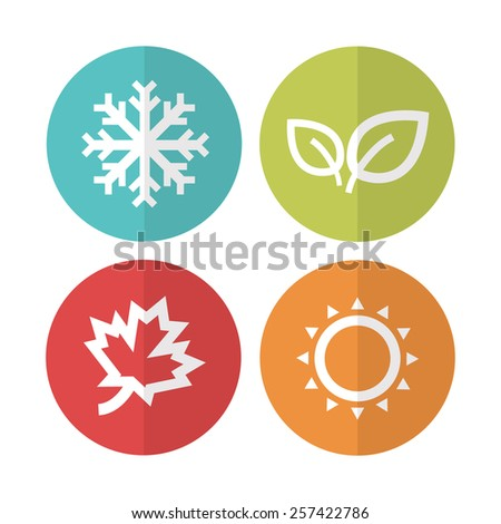 season iconsvector