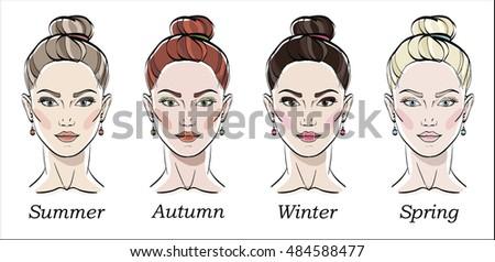 seasonal color types for women