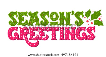 Seasons greetings vector download free vector art stock graphics seasons greetings hand drawn winter holiday image ornate christmas lettering with decorative design elements m4hsunfo