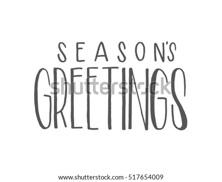 Seasons greetings vector download free vector art stock graphics seasons greetings hand lettered quote bible verse modern calligraphy m4hsunfo