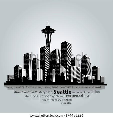 seattle city silhouette