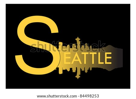 Seattle, skyline, downtown, city, high-rise buildings, Washington, shopping, real estate, travel