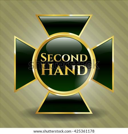 Second Hand gold emblem