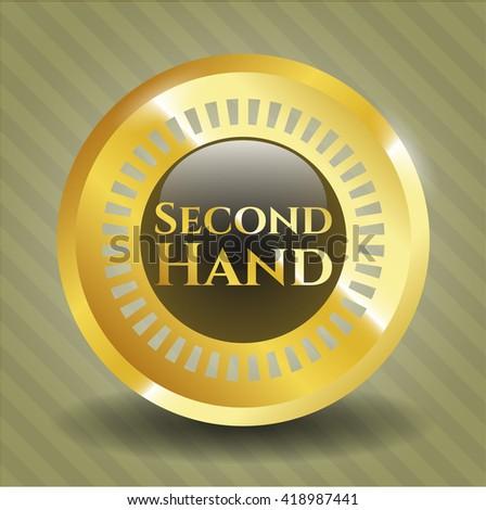 Second Hand golden emblem