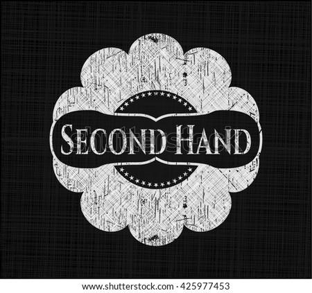 Second Hand on blackboard