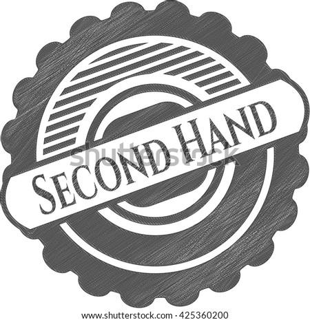 Second Hand pencil emblem