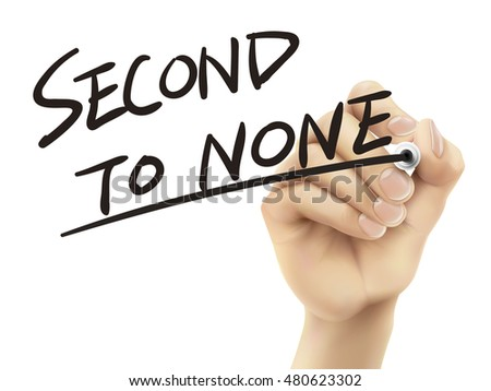 second to none written by hand