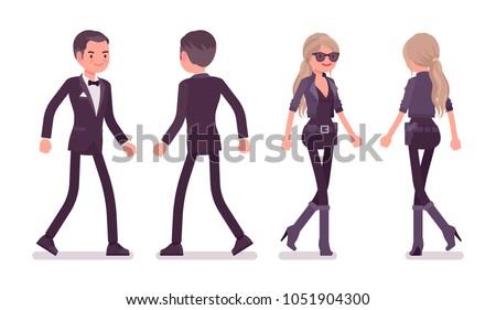secret agent man and woman