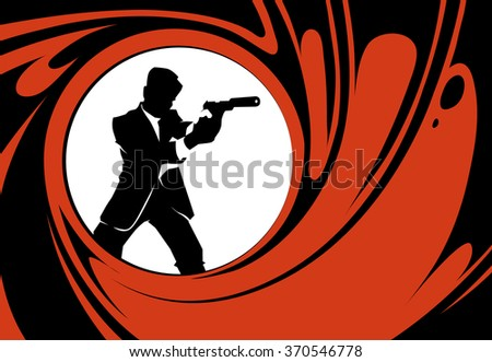secret agent or spy vector