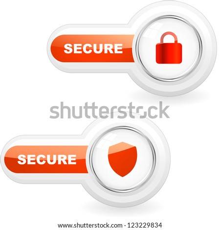 SECURE icon for web.