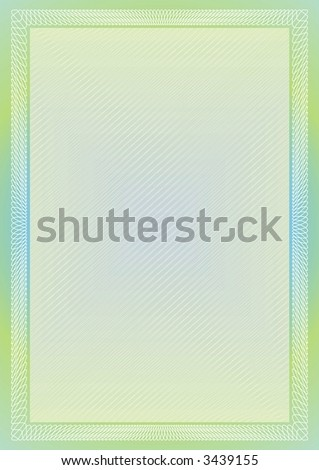 Secure rainbow frame with light background