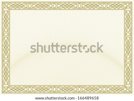 secured document background guilloche style background diploma or certificate design