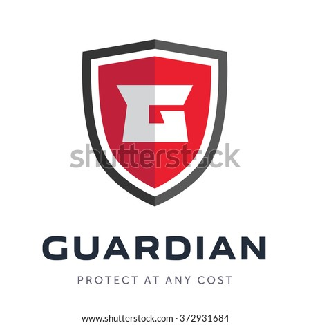 Security company logo ready to use. Abstract symbol of security. Shield logo. Shield icon. Security logo.