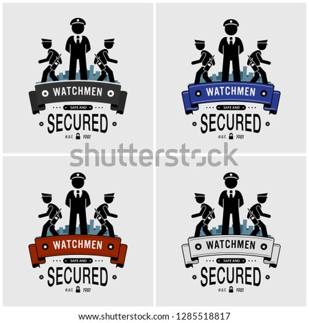 security guards logo design