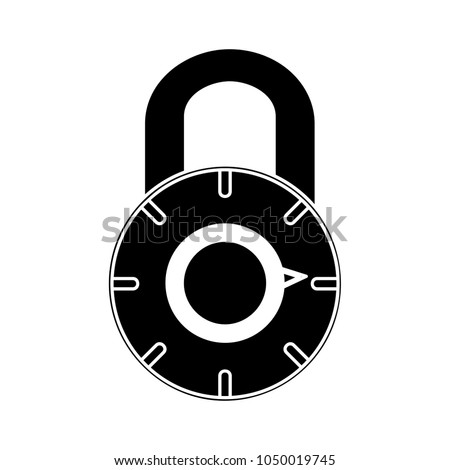 security icon - safe lock icon, padlock symbol