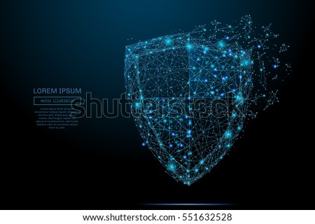 security shield composed of
