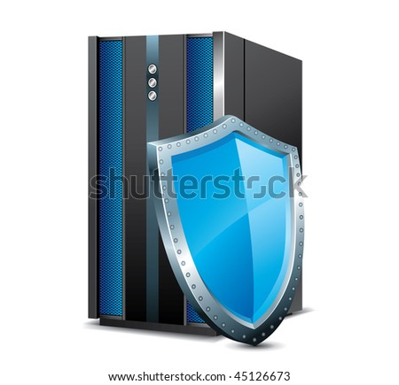 security system - stock vector