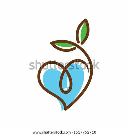 seeds and water logo that
