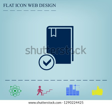 selected book icon