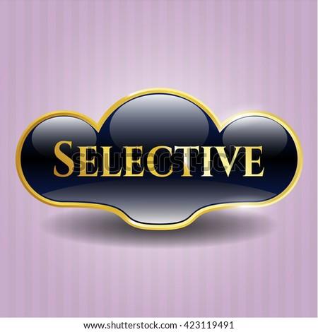 Selective golden badge
