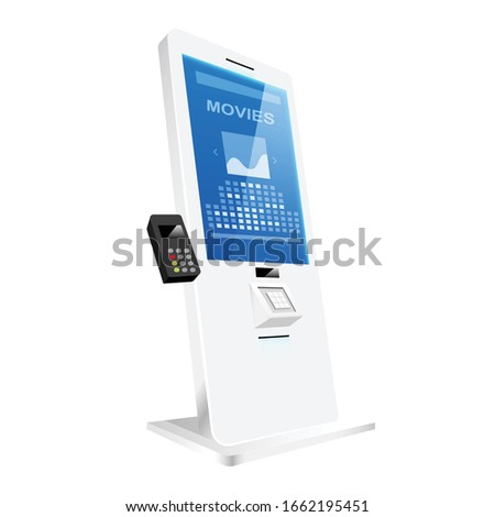 self service ticket counter