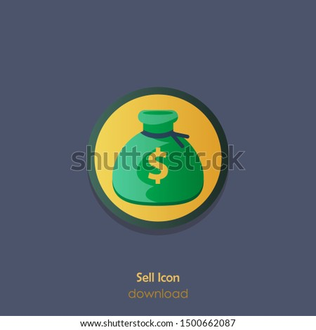 Sell Icon. Sell Sign Symbol. Illustration Of Sell. Vector Icon
