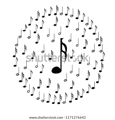 semi quaver music note