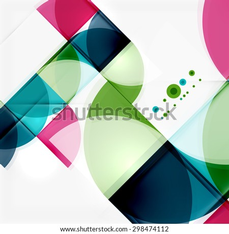 semicircle triangle pattern