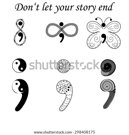 semicolon variations  don't let