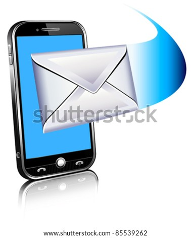 Send an email by phone