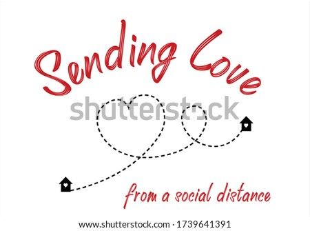 sending love heart route design