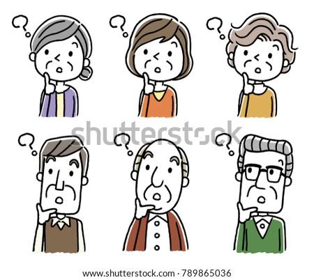 Senior male and senior woman: question