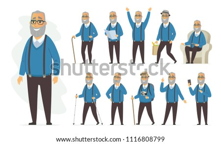 old man - 300 Free Vectors to Download | FreeVectors