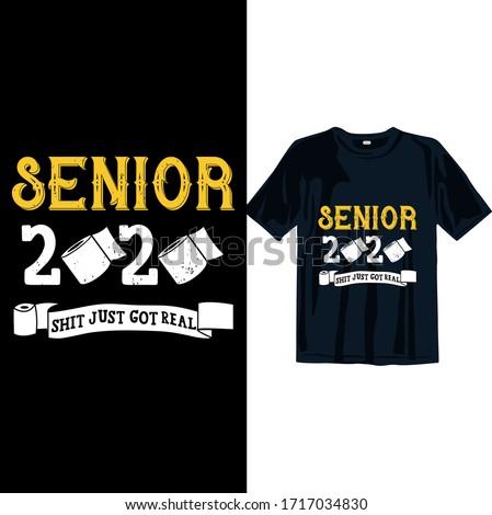 senior 2020 shit just got real